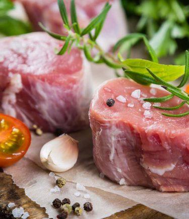 Pavés de filet mignon de porc