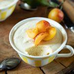 Ma recette facile de mousse aux mirabelles sans sucre ajouté, pour les régimes keto.