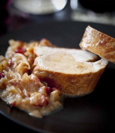 Recette de filet mignon aux cranberries et au piment