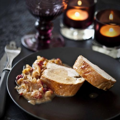 Recette de filet mignon de porc aux cranberries et au piment