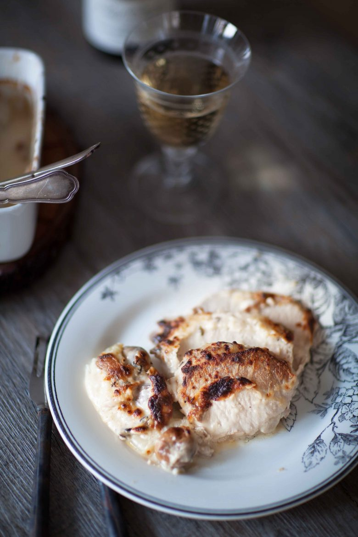 Recette de filet mignon de porc rôti au lait et au four