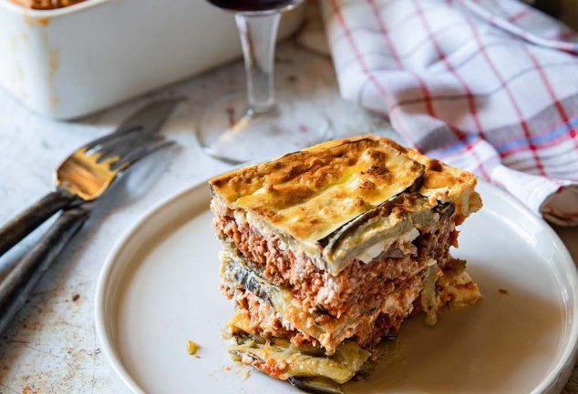 Ma recette de moussaka grecque traditionnelle gluten free