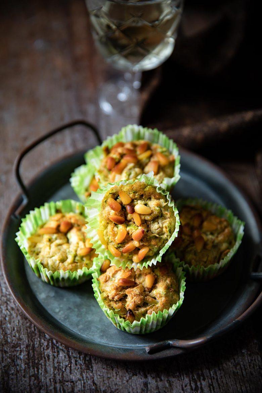 Ma recette de muffins aux courgettes et pignons de pin lactose free