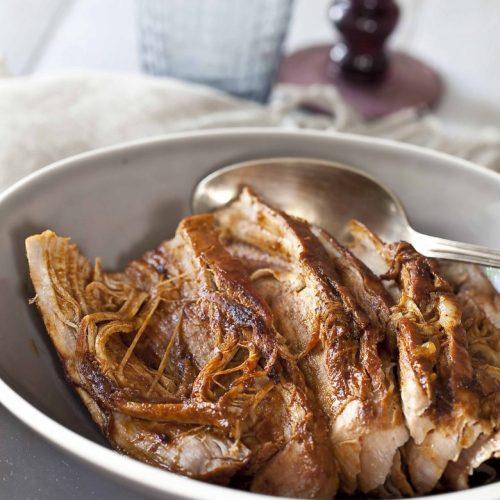 Recette de pulled pork de filet mignon de porv