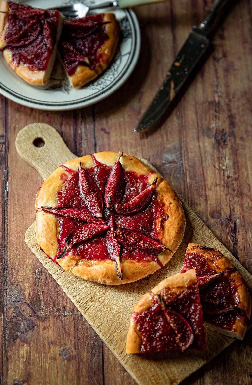 Tarte briochée à la figue et à la cannelle, ma recette gourmande