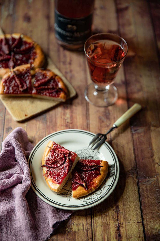 Ma recette de tarte briochée aux figues fraîches