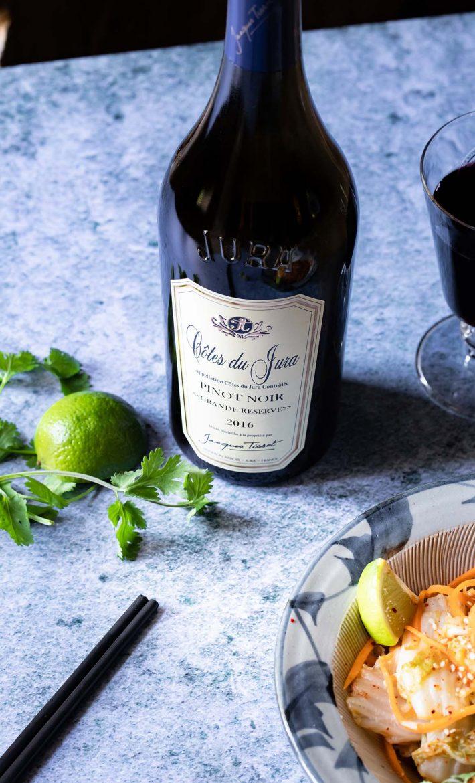 Pinot Noir de Jacques Tissot, Côte du Jura rouge, Grande Réserve
