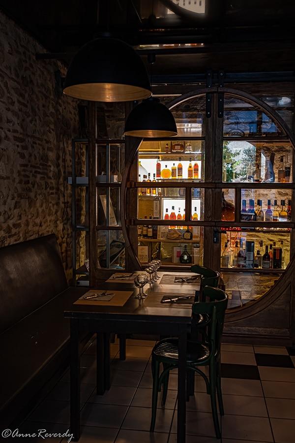 La cave d'Armagnac du Loft Café