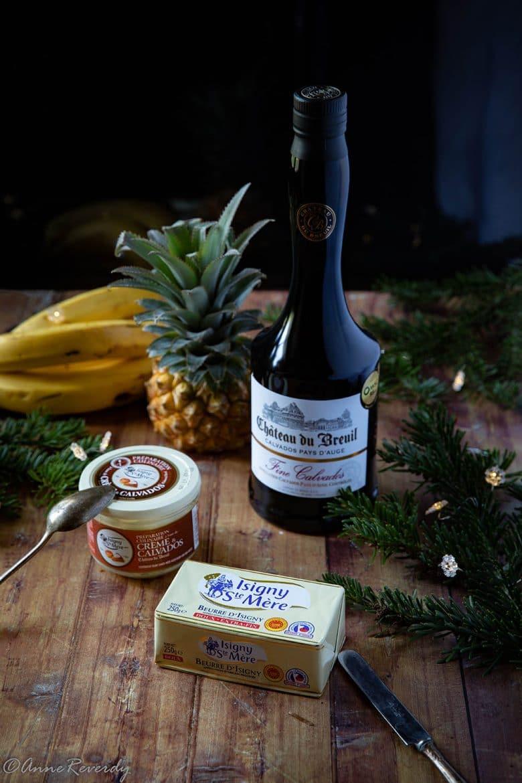 Le beurre et la crème de la coopérative laitière d'isigny Saint-Mère et Calvados du Château Du Breuil