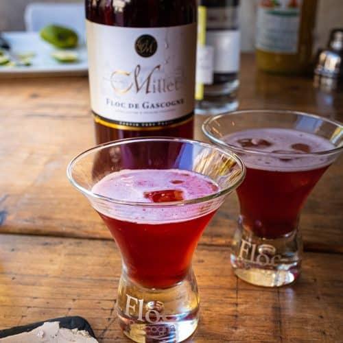 Recette de cocktail Gascon à base de Floc de Gascogne