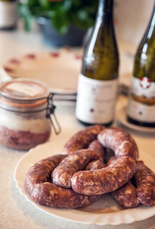 Diots de Savoie, saucisses fraîches savoyardes