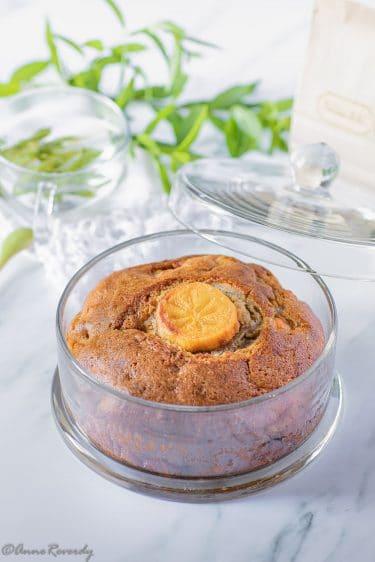 Recette de gâteau aux épices et au kaki