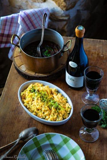 Recette de purée de légumes, le stoemp, cuisine bruxelloise