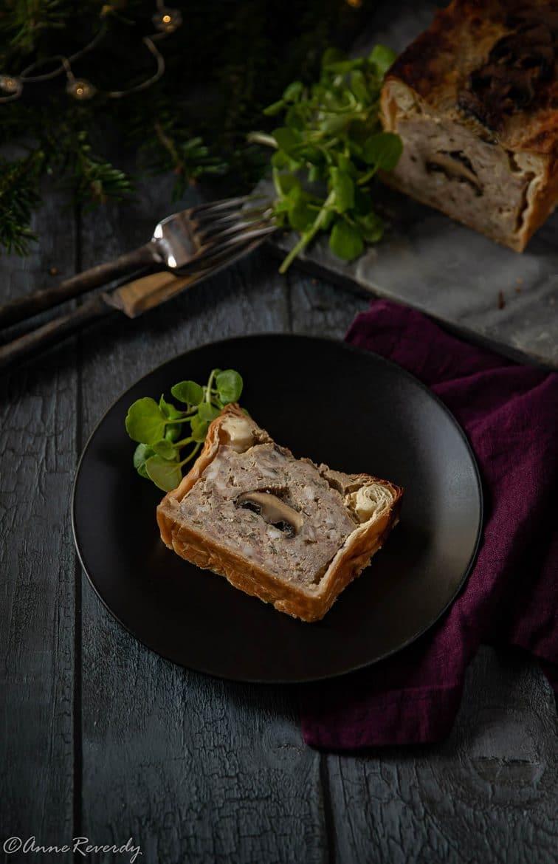 Pâté en croûte aux champignons, ma recette facile et rapide