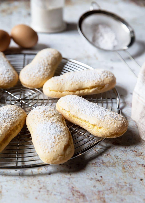 Les savoiardi, la recette de biscuits cuillère ou boudoir
