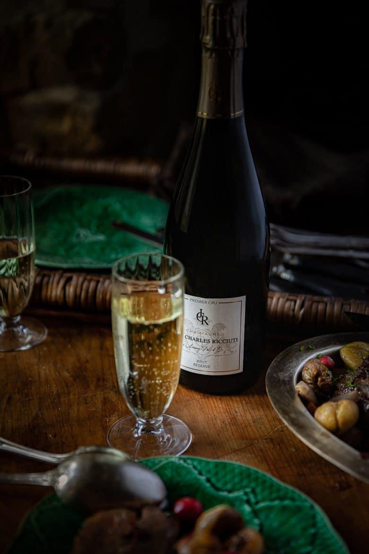 Champagne John Charles Ricciuti 1er cru Réserve Brut