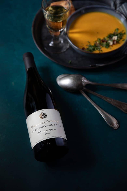 Domaine Montoray, L'Oiseau Blanc, vin blanc Montlouis sur Loire