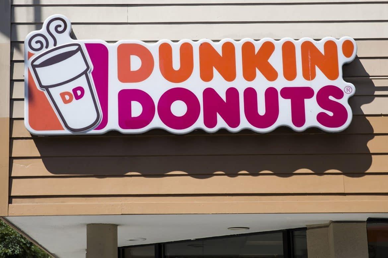 Devanture de Dunkin' Donuts