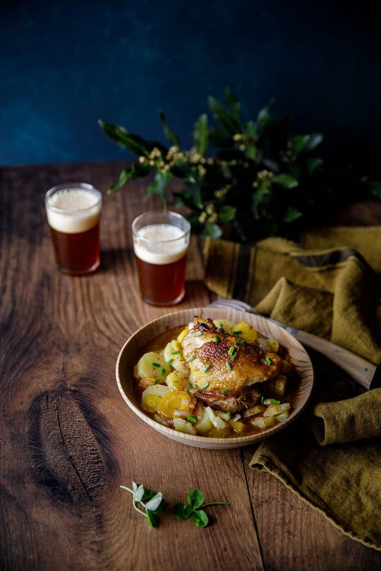 La recette d'un irish stew au poulet, chicken irish stew