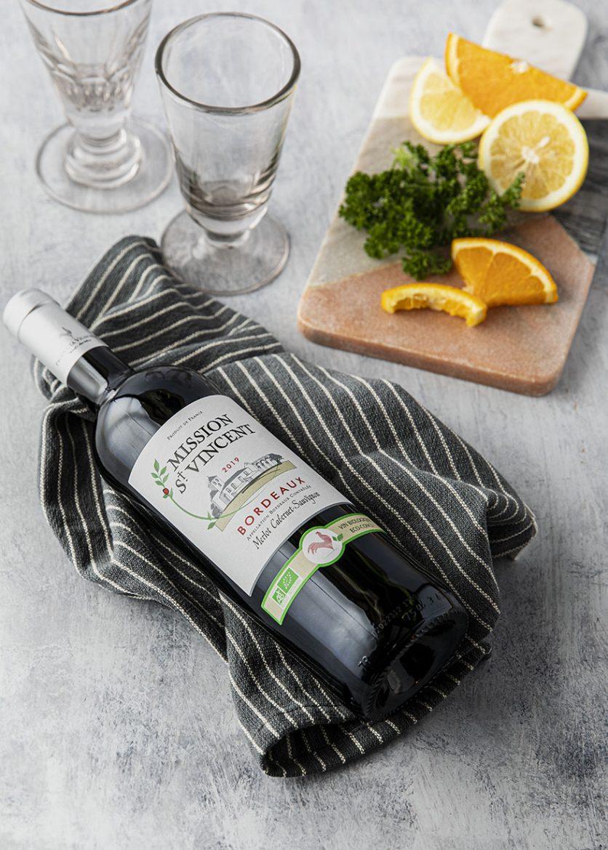 Vin rouge de Bordeaux, Mission St Vincent Bio