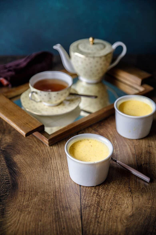 Ma recette de crème aux oeufs à la vanille de Tahiti cuite au four