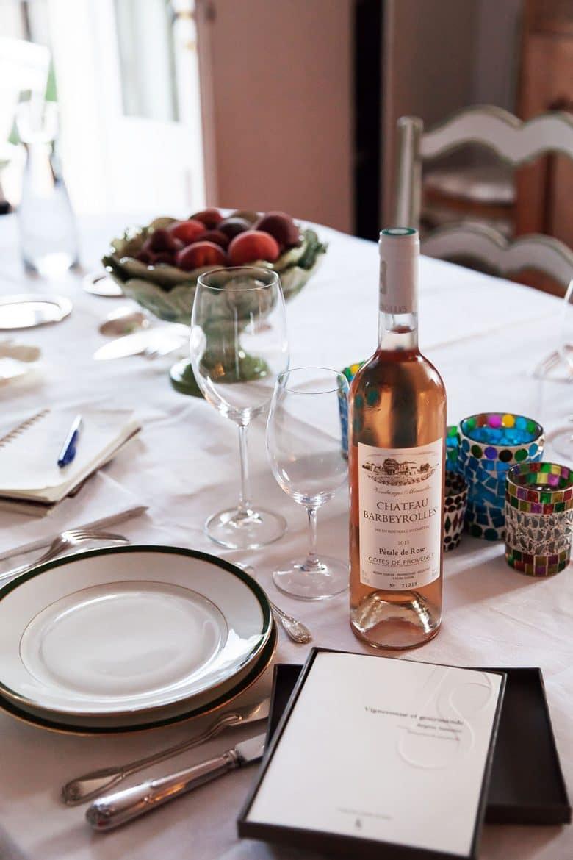 Vin rosé AOP Côtes de Provence du Château Barbeyrolles, le Pétale de rose