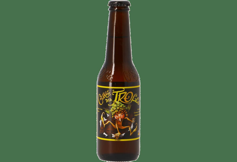 La bière blonde Cuvée des Trolls