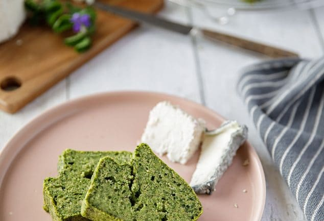 Recette de cake vert aux épinards