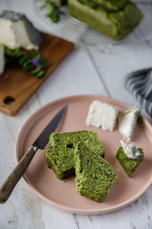 Recette de cake aux épinards, tout vert