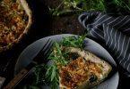 La recette de la tarte à la feta, aux courgettes et au zaatar