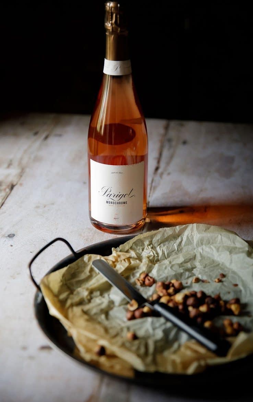 Crémant de Bourgogne rosé, Parigot Monochrome