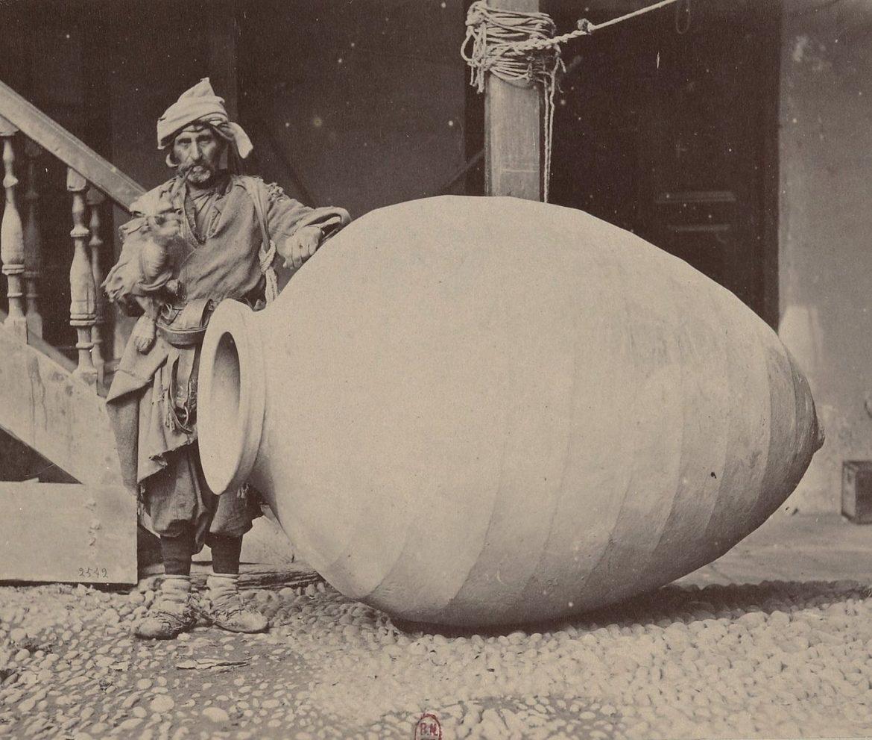 Amphore ou kvevri géorgienne en 1881