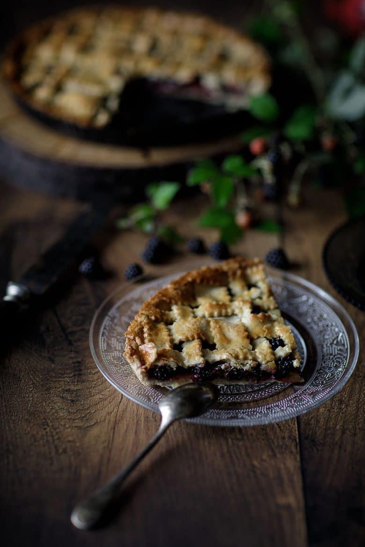 Recette de tarte croisillons aux mûres