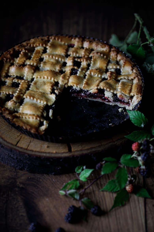 Ma recette de tarte aux mûres sauvages aux croisillons