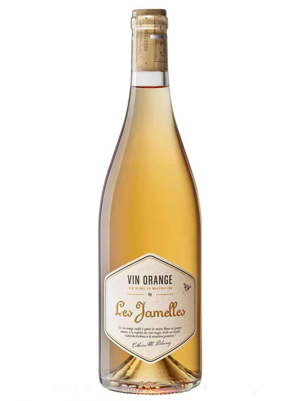 Les Jamelles, le Vin Orange, bouteille