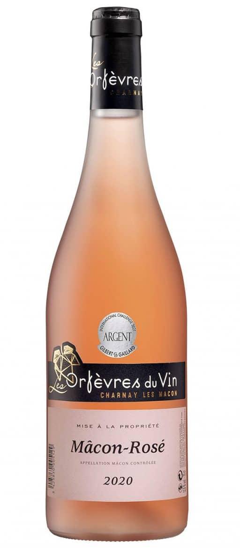 Vin Mâcon rosé, les Orfèvres du Vin, Cave de Charnay